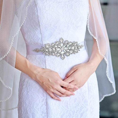 Vintage Sparkle Crystal Bridal Belt